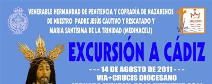 cartel excursion cadiz