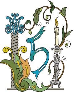 Logotipo conmemorativo 5 aniversario. Autor; Adrian Adrover.