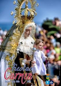 Cartel Virgen del Carmen