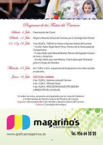 PROGRAMA ACTOS EL CARMEN 2015