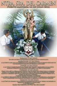 Cartel Actos Carmen Puente Mayorga