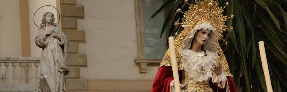 Virgen de la Soledad en Rosario