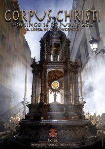 Cartel La Línea Cofrade para el Corpus Christi