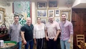 Junta Gobierno y representantes Banda Esencia