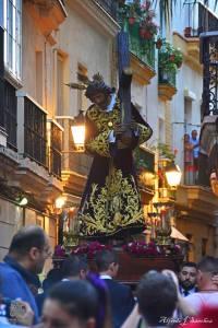El Señor Gran Poder en Cádiz con su nueva Túnica