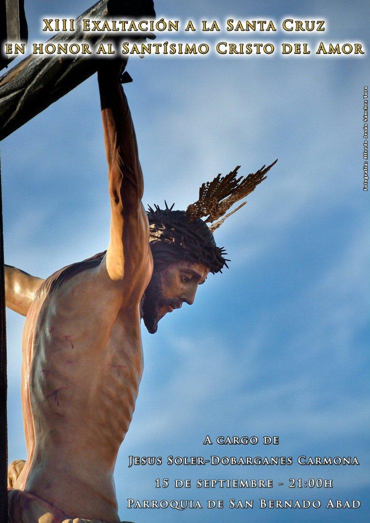 Cartel XIII Exaltación Cristo del Amor