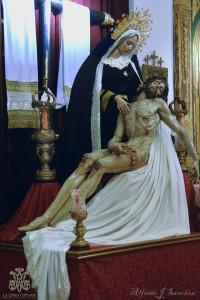Cristo de las Almas y Virgen de las Angustias