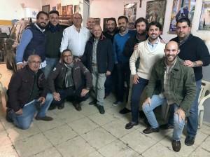 Miembros del jurado, asesores y responsables de La Línea Cofrade.
