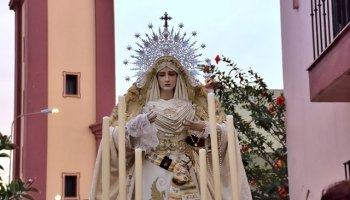 Piadoso Rosario Virgen de la Salud 2019