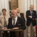 LA TERTULIA «BAJO PALIO» ENTREGA EL NAZARENO DE PLATA Y PRESENTA EL CARTEL DE LA SEMANA SANTA 2020
